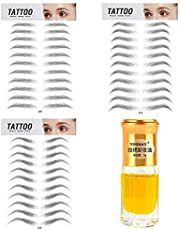 33 Pairs 4D Hair-Like Authentic Eyebrows Waterproof Long Lasting Natural Eyebrow Tattoo Stickers Makeup Cosmetic Tool