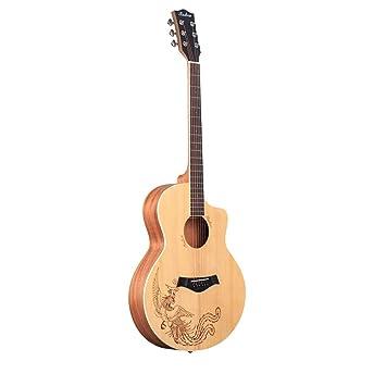 Los Principiantes de la Guitarra acústica Popular de 40 Pulgadas ...