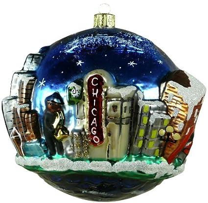 Chicago Christmas Ornament - Jazz Player - Amazon.com: Chicago Christmas Ornament - Jazz Player: Home & Kitchen