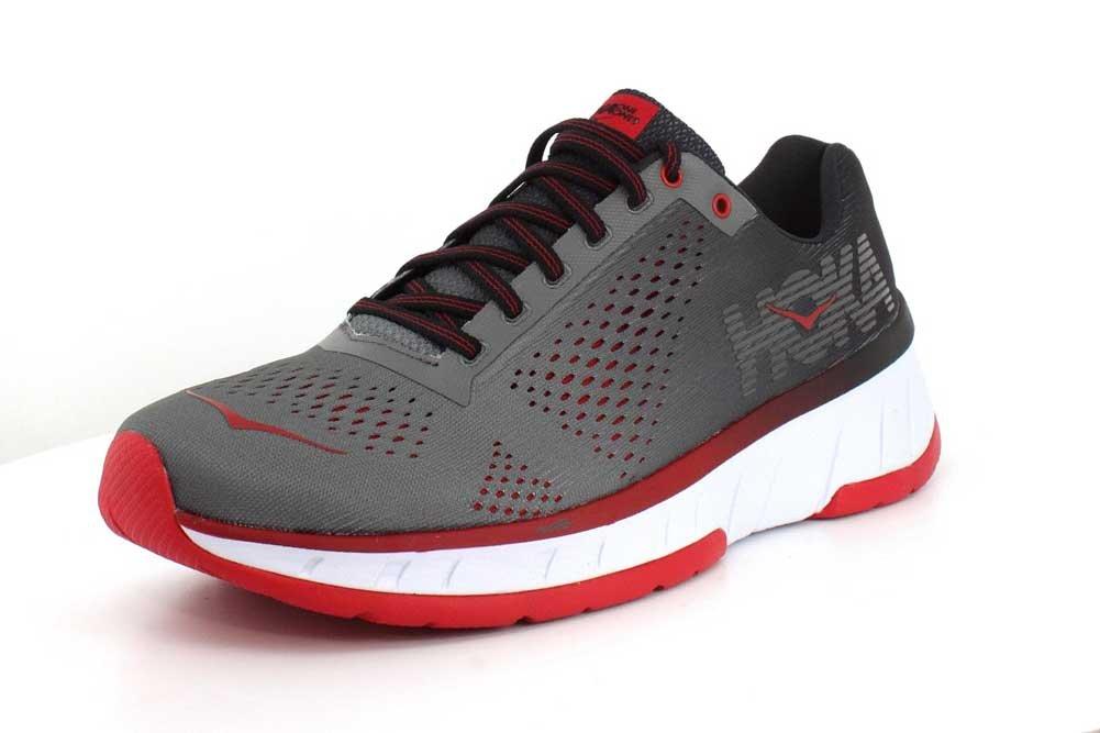 HOKA ONE ONE Men's Cavu Running Shoe B072J4ML2X 8 D(M) US|Charcoal/Black