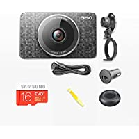 360 brand Monkey King J511C 3 LCD FHD 1080P 165 Wide Angle Dashboard Camera Recorder with parking monitoring,night vision,G-Sensor, E-HDR, Loop Recording Car Dash Cam with 16G TF Card