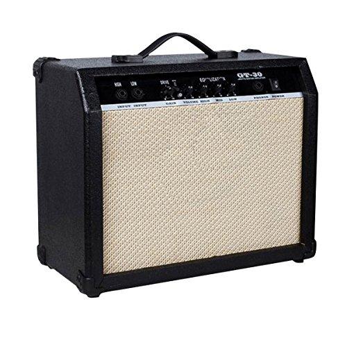 Blueseason Electric Guitar Amplifier 30W Clean Channel with Handle Portable Amplifier ,Black by Blueseason