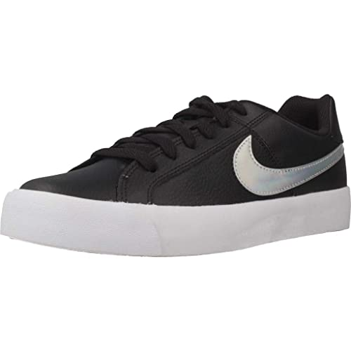 nike court negras mujer