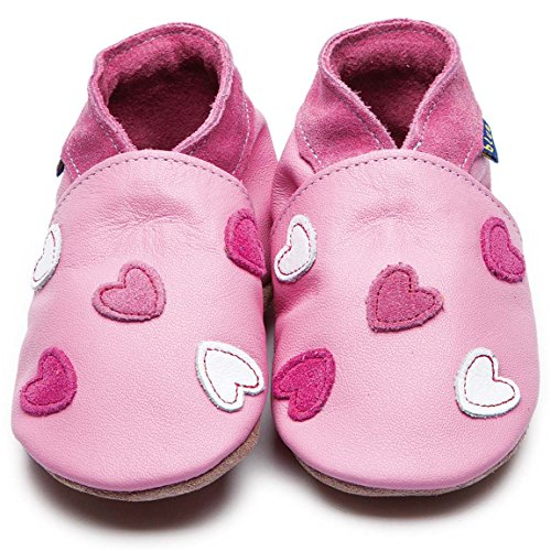 Inch Blue Krabbelschuhe Cariad Baby Pink, Child Large