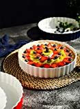 Sweese 515.102 Porcelain Tart Pan, 9.5 Inches