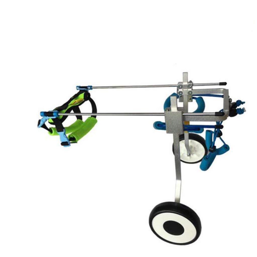 ペット犬車椅子2ラウンド脚リハビリトレーニング大補助サポートスクーター自由に調整可能なサイズ無効犬スクーター (サイズ さいず : XSWL) B07PCR41PS  XSWL