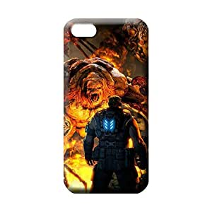 MMZ DIY PHONE CASEipod touch 5 mobile phone back case Hard Protection stylish gears of war 3 hd