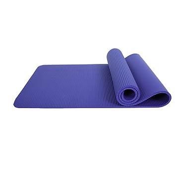 Estera De Yoga NBR, Colchoneta De Ejercicios Antideslizante ...
