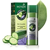bio veda biotique Cucumber Pore Tightening Toner with Himalayan Waters, 120ml