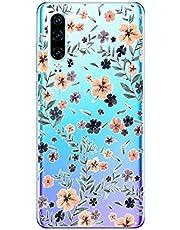 Oihxse Funda Huawei P Smart 2019/Honor 10 Lite, Ultra Delgado Transparente TPU Silicona Case Suave Claro Elegante Creativa Patrón Bumper Carcasa Anti-Arañazos Anti-Choque Protección Caso Cover (A14)