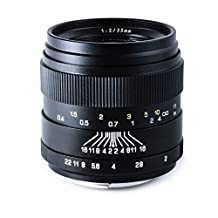Oshiro 35mm f/2 LD UNC AL Wide Angle Full Frame Prime Lens for Nikon D4S, DF, D4, D3X, D810, D800, D750, D610, D600, D7200, D7100, D5500, D5300, D5200, D5100, D3300 and D3200 Digital SLR Cameras