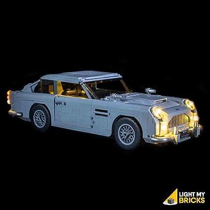 Amazon Com Light My Bricks Lighting Kit For Aston Martin Db5 10262