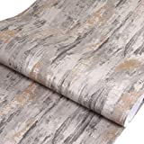 3D Self-Adhesive Textured Rustic Grey Cement Look Wallpaper Contact Paper Wallpaper Retro Wall Pattern for Living Room TV Wall Store Backdrops Thick Waterproof PVC DIY Decorative roll 17.71'x78.7'