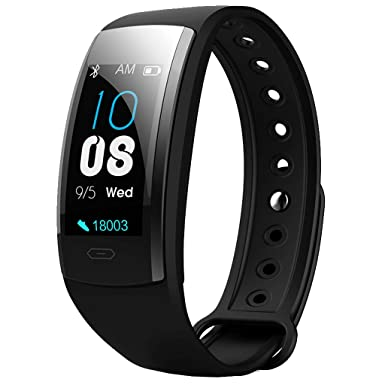 Amazon.com: Smart Monitor Heart Rate Bracelet Color Bracelet ...