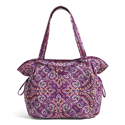 Vera Bradley Iconic Glenna Tote, Signature Cotton, dream tapestry ()