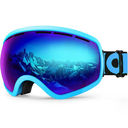 oard Snow Goggles OTG for Men Women Youth Anti-Fog UV Protection Helmet Compatible ()