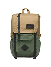 JanSport Hacha de Mochila, Field Tan/Muted Green, Una Talla