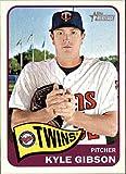 2014 Topps Heritage #89 Kyle Gibson - Minnesota Twins (Baseball Cards)