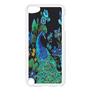 LTTcase Customised Personalised peacock Case for ipod touch5