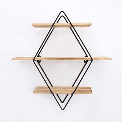 aa0b05e54c Amazon.com: AZZ Creative Wall Mounted Storage Shelf,Double Layer ...