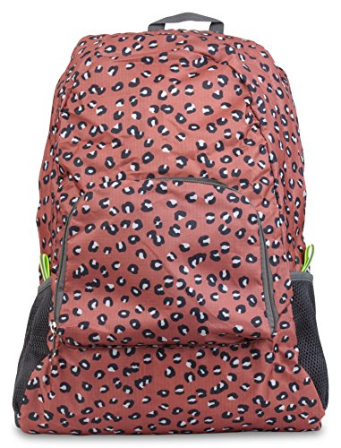 Stay Dry Packable Backpack Travel Bag (Cheetah) (Travel Cheetah Luggage)