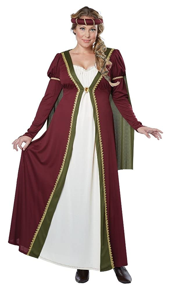 California Costumes Women\'s Plus-Size California Costumes Medieval Gown