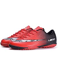 Mens Football Shoes Boots Cleats High Ankle Soccer Boys Football Shoes Indoor Futsal Training Soccer Non