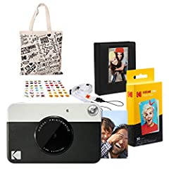 Point shoot and print with the Kodak Instant Print Camera Forget computers Forget cumbersome printers The Kodak Printomatic Camera prints smudge-proof water- and tear-resistant photos up to 10 MP automatically Just point shoot and print Perfe...