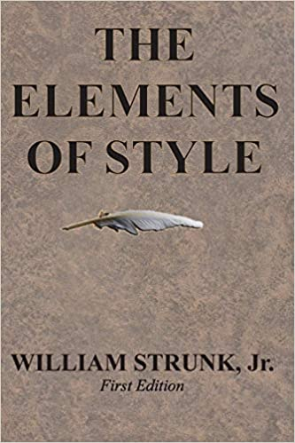 The Elements Of Style William Strunk Jr 9781945644016 Amazon
