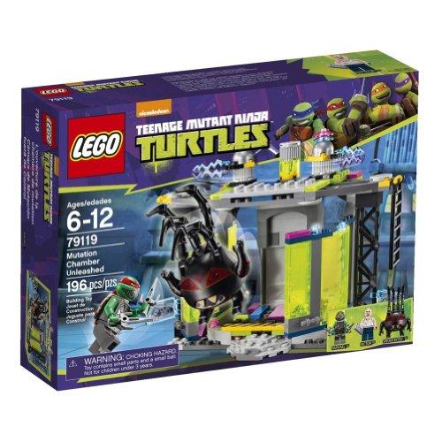 LEGO Ninja Turtles 79119 Mutation Chamber Unleashed