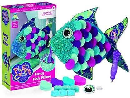 The Orb Factory Pluscraft Fancy Fish Pillow
