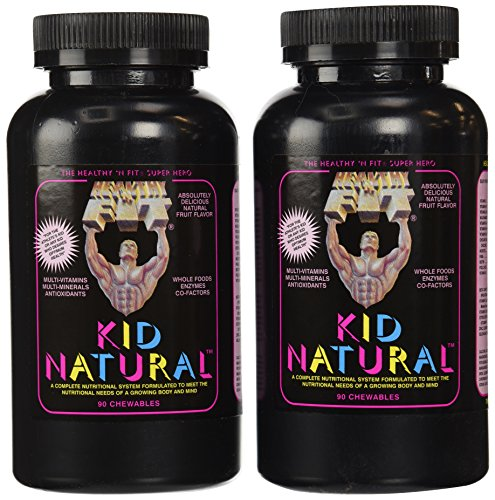 Healthy 'n Fit Kid Naturals 90t,  Bottle (Pack of 2)