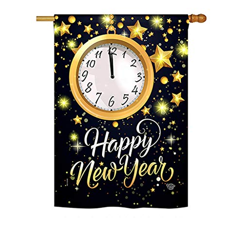 - Ornament Collection H192142-P3 New Year Countdown Winter New Year Impressions Decorative Vertical 28