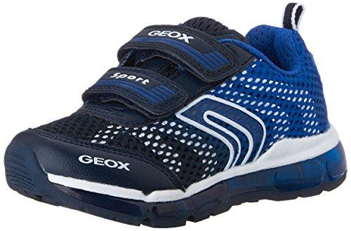 Geox Android Boy 7 Sneaker (Toddler/Little Kid/Big Kid), Navy/Royal, 26 EU (9 M US Toddler)