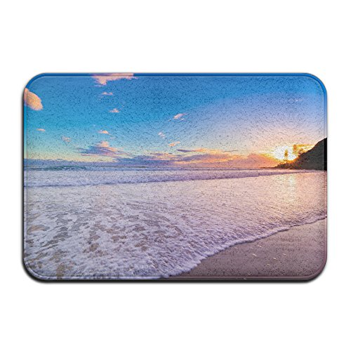 Yo Ou Doormats Rug Sunrise Beach Casual Anti-skid Living Bedroom Rug Front Door Mat Indoor Outdoor Mats Rug - Airport Sunrise