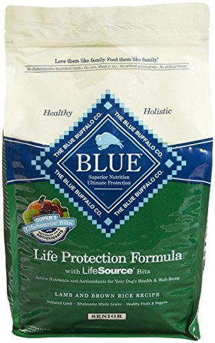 Blue Buffalo Blue Dog Senior Lamb Formula Food, 6 lb.