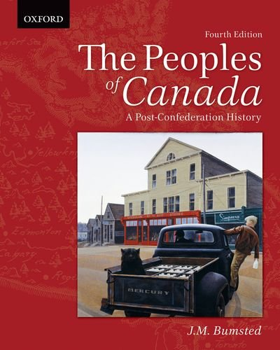 The Peoples of Canada: A Post-Confederation History