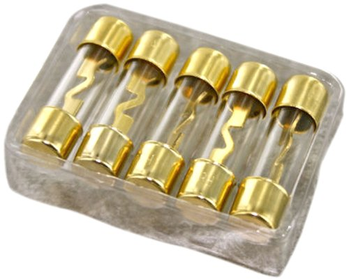 Kuma KGF80A AGU Fuses Gold Plated, 5 Pieces per Blister ()
