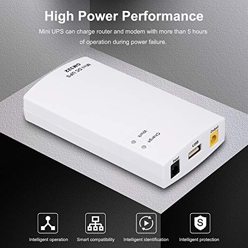 Docooler GM322 Mini UPS Power Protection Charger 7800MAH DC