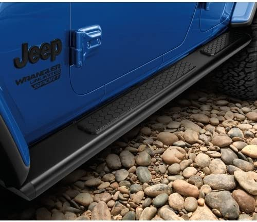 Mopar 82215328 Jeep Wrangler Tubular Side Steps Two Door JL Models