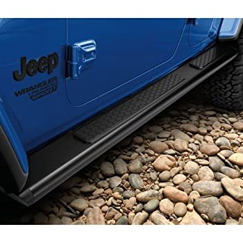 Amazon Com 2018 Jeep Wrangler Tubular Side Steps Automotive