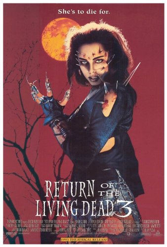 Return of the Living Dead 3 Movie Poster (27 x 40 Inches - 69cm x 102cm) (1993) -(Mindy Clarke)(James T. Callahan)(Kent McCord)(Sarah Douglas) (Return Of The Living Dead 3 Cast)