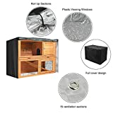 BUNNY BUSINESS Universal Double Hutch Cover, 48-Inch