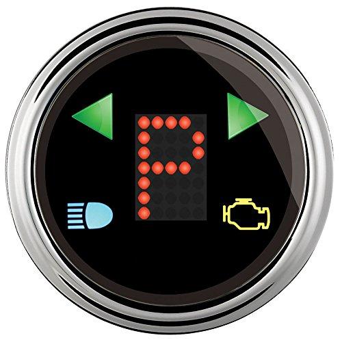 """Auto Meter (1460) 2-1/16"""" Gear Shift Indicator Gauge"""