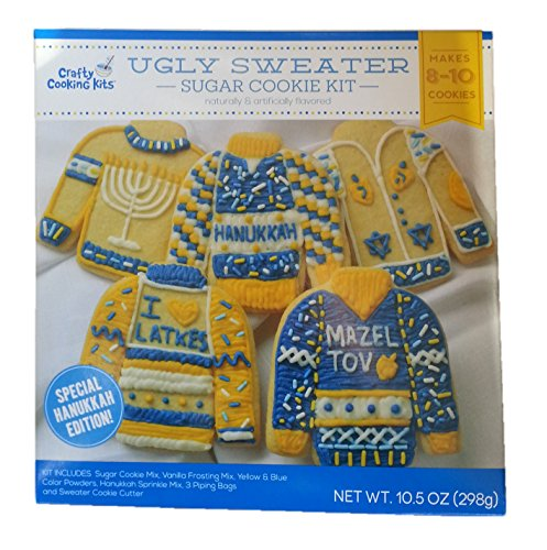Hanukkah Ugly Sweater Cookie Kit