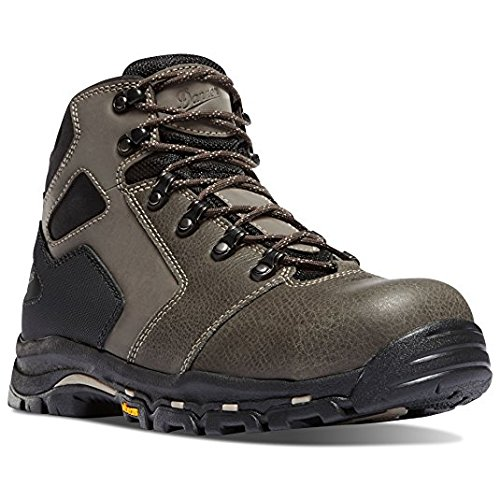 Danner Vicious 4.5'' Slate/Black Hot NMT (Non-Metallic Toe) Vibram Sole Oil & Slip Resistant   Made In USA Waterproof Gore-TEX (GTX)  Electrical Hazard Boot Leather   Climb Mountains (13 EE)