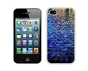 Blue Tiled Walkway the Stone Road iphone 5s Cases iphone 5s Case Clear White Cover