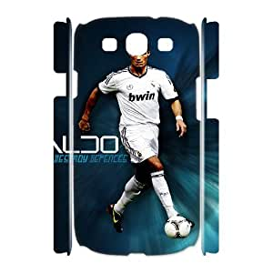 I-Fponec Samsung Galaxy S3 I9300 Case Cristiano Ronaldo,Customized Gifts Hard 3D Case HMK051855