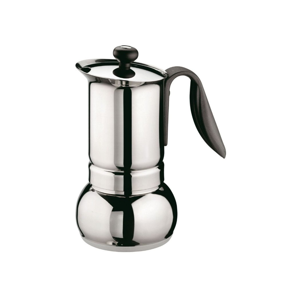 GAT Cafe Caffe Opera 2 Cup Steel St Stove Top Italian Espresso Coffee Maker