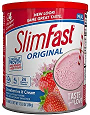 SlimFast Original Rich Chocolate Royale, Mix – Weight Loss Powder